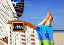 Holiday at the Beach Royalty Free Stock Photos