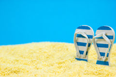 Holiday on the beach Royalty Free Stock Photography