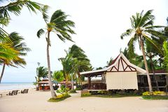 Holiday beach resort on Bantayan Island Royalty Free Stock Images