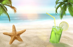 Holiday on the beach Royalty Free Stock Image