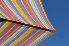Holiday Beach Sunshade Royalty Free Stock Images