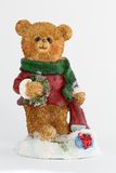 Holiday Bear Royalty Free Stock Image