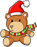 Holiday Bear Vector Stock Images