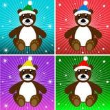 Holiday Bears Royalty Free Stock Photos