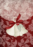 Holiday Bells 2 Background Card Royalty Free Stock Photo