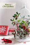 Holiday Birdcage Royalty Free Stock Images
