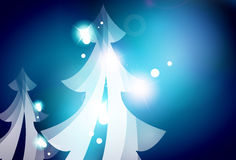 Holiday blue abstract background, winter Royalty Free Stock Photography