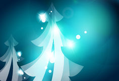 Holiday blue abstract background, winter Royalty Free Stock Images