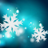 Holiday blue abstract background, winter Royalty Free Stock Photo