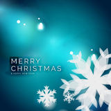 Holiday blue abstract background Royalty Free Stock Photo