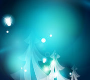 Holiday blue abstract background Royalty Free Stock Image