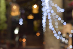 Holiday blurred lights Royalty Free Stock Photo