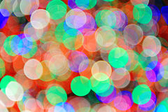 Holiday bokeh Stock Photos