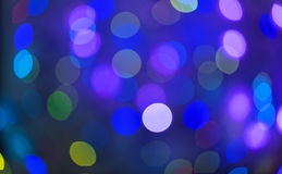 Holiday bokeh. Abstract Christmas background Stock Photos