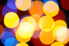 Holiday bokeh background Royalty Free Stock Image