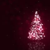 Holiday Bokeh Christmas Tree Stock Photography