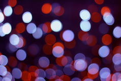 Holiday bokeh light background Royalty Free Stock Images