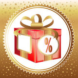 Holiday bonus Royalty Free Stock Photo