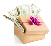 Holiday bonus. Stock Images