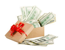 Holiday bonus. Stock Image