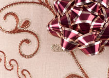 Holiday Bow Royalty Free Stock Photo
