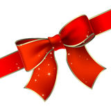 Holiday bow Royalty Free Stock Images