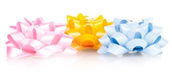 Holiday bow isolated Stock Photos