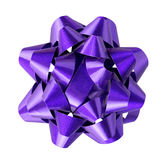 Holiday bow isolated Stock Images