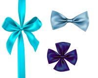 Isolated ribbon set Stock Images
