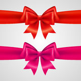 Holiday bows Royalty Free Stock Images