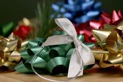 Holiday Bows. Holiday Ribbons and Bows Royalty Free Stock Images