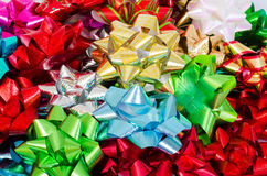 Holiday Bows Background Royalty Free Stock Photography