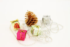 Holiday Boxes Royalty Free Stock Photo