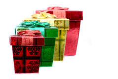 Holiday Boxes Royalty Free Stock Photography