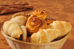 Holiday breads Stock Photos