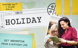Holiday Break Journey Travel Trip Concept Stock Photos