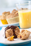 Holiday breakfast Stock Images