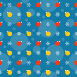 Holiday bright colored pattern background with bright Christmas Stock Image