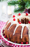 Holiday bundt cake Royalty Free Stock Photography