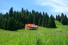 Holiday bungalow. At Urumqi China Royalty Free Stock Photos