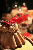 Holiday cake Stock Images