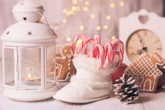 Holiday candies Royalty Free Stock Image