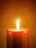 Holiday Candle Stock Photography