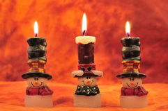 Holiday candles Royalty Free Stock Photos