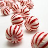 Holiday candy cane Royalty Free Stock Photo