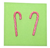 Holiday Candy Canes Royalty Free Stock Photos