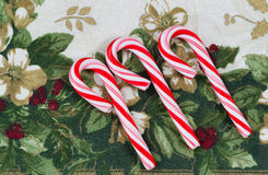 Holiday Candy Canes Royalty Free Stock Photo