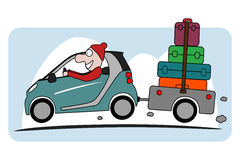 Holiday on car Royalty Free Stock Image