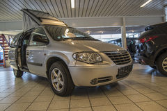 Holiday car 2006 chrysler grand voyager freedom 4 seats Stock Photography