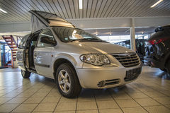 Holiday car 2006 chrysler grand voyager freedom 4 seats Royalty Free Stock Images